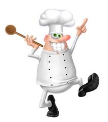 Fototapete - cuoco matto