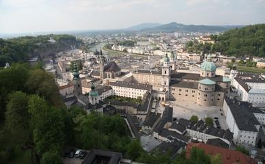 Зальцбург. Вид с холма