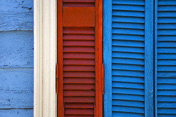 Colorful facade from Caminito in La Boca, Buenos Aires, Argentina