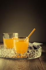 Glasses Of Orange Juice