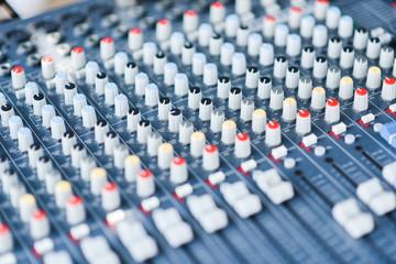 Audio control pane
