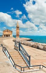 Caorle Italy Venezia seafront provincial town near Adriatic sea