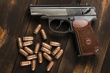 Cartridges for the Makarov pistol