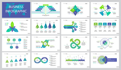 Fifteen Development Slide Templates Set