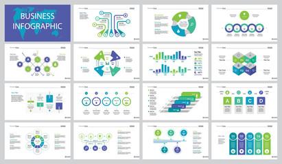 Fifteen Finance Slide Templates Set