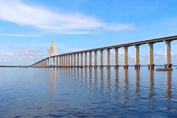 Rio Negro Bridge , Manaus, Amazonas  Brazil