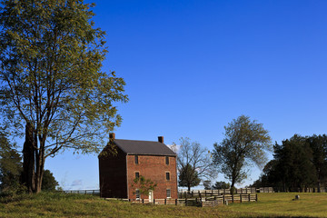 Appomattox County Jail in Virginia. Built 1867. On the site of Appomattox Court House National Historic Park