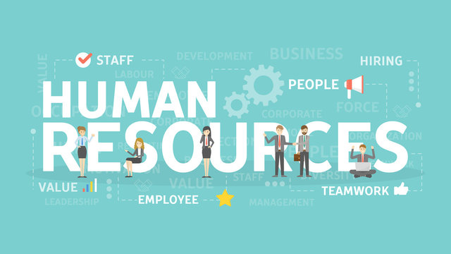 Human resources concept.