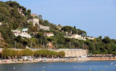 Plage des Marinières - Villefranche-Sur-Mer - French Riviera