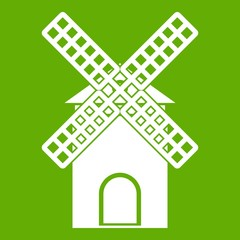 Mill icon green