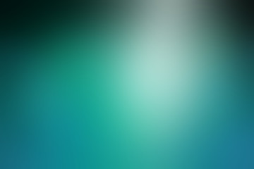 shiny elegant blurred blue and black background with spotlight shine, beautiful teal or turquoise color in smooth metal texture wallpaper layout