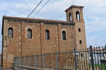 Ravenna,  la chiesa di Santa Maria Maggiore