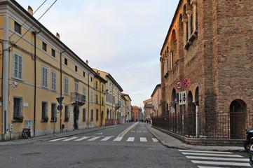 Ravenna, la via Roma