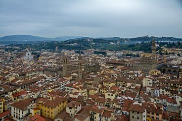 Florenz aus der Vogelperspektive