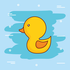 cute duck icon image