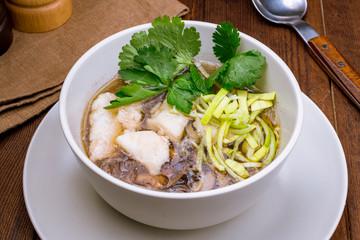 Vietnamese soup Pho Ho