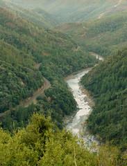 Feather river through the canyon