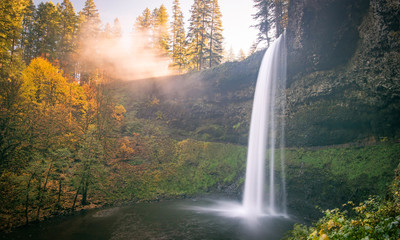 """""""Autumn's Colors"""" at Silver Falls South"""