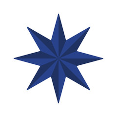 Vector symbol: Eight pointed star or Octagram.