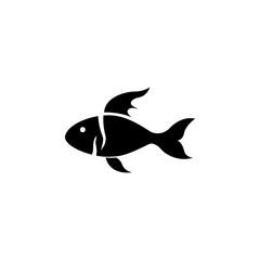 ornamental fish icon. Element of pet for mobile concept and web apps. Icon for website design and development, app development. Premium icon