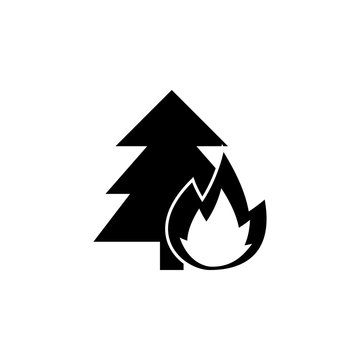 wildfire icon. Element of firefighter shop for advertising signs, mobile concept and web apps. Icon for website design and development, app development. Premium icon