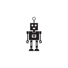robot with a smile icon. Element of robots for advertising signs, mobile concept and web apps. Icon for website design and development, app development. Premium icon