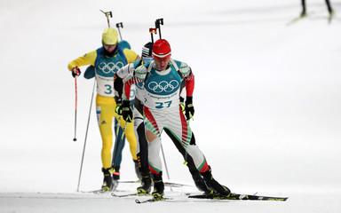 Olympics: Biathlon-Mens 12.5km Pursuit