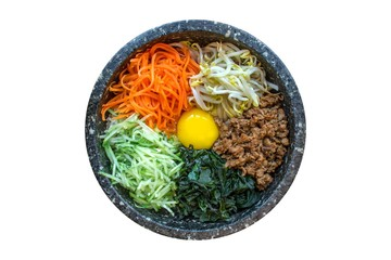 Bibimbap, a Korean Traditional Food