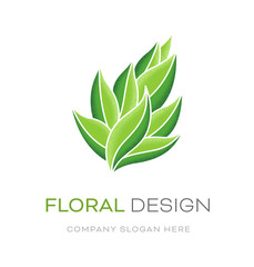 logo floral