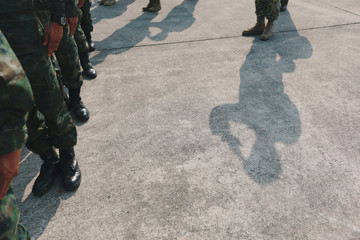 Soldiers attend opening ceremony of Cobra Gold, Asia's largest annual multilateral military exercise, outside Bangkok