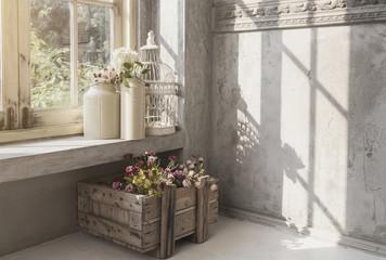interior indoor garden victorian vintage style