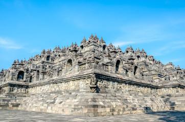 Fotobehang Indonesië Heritage Buddist temple Borobudur in Yogjakarta in Java, indonesia