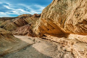 canyon dans la vallée de la mort