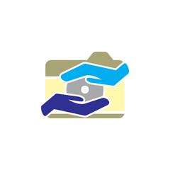 Care Camera Logo Icon Design
