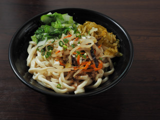 Chinese tradition food - dry noodles