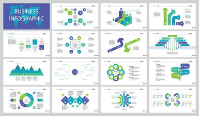 Marketing Concept Slide Templates Set