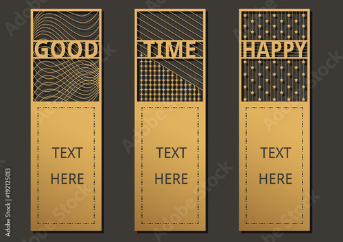 Laser cut with wording set of ornate cards template for greeting laser cut with wording set of ornate cards template for greeting card motivation tag m4hsunfo