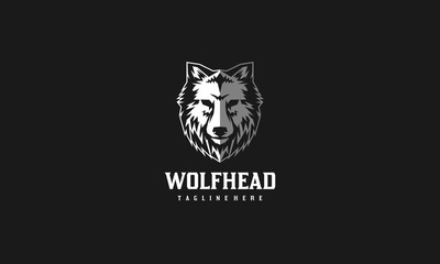 Wolf Head Vector Logo
