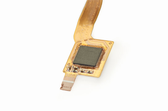 A flexed printed circuit board (FPC), electronic connector.