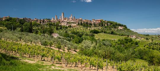 Foto op Canvas Toscane San Gimignano countryside, Tuscany