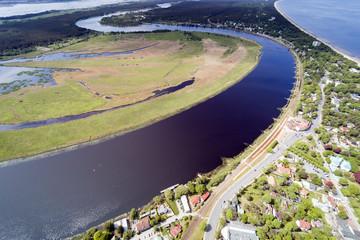Jurmala city and surroundings, Latvia.