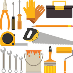 A set of tool icons for DIY or Handyman business