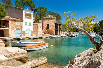 Cala Figuera - old fishing port of Santanyi - Mallorca - 2653