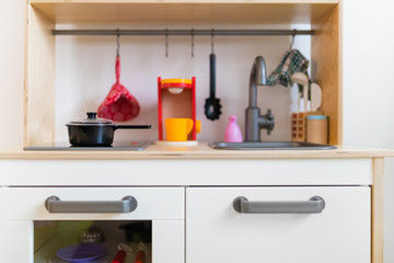 Equipped kids kitchen