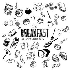 Breakfast Illustration Pack