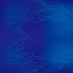 コンピュータ回路 配線ランドのイメージ