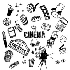 Cinema Illustration Pack