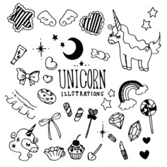Unicorn Illustration Pack
