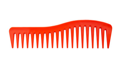 Hair Comb on a white background