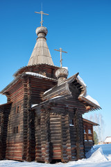 The Church of the Savior. Historical and Architectural Museum in the open air.